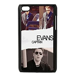 Hjqi - Custom Chris Evans Phone Case, Chris Evans Customized Case for iPod Touch 4