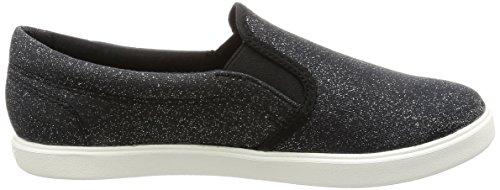 Crocs Donne Citilane Moda Slip-on Sneaker Shimmer Nero