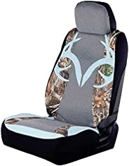 Realtree Lowback Seat Covers, Durable Water and Dirt Resistant Camo Seat Protection