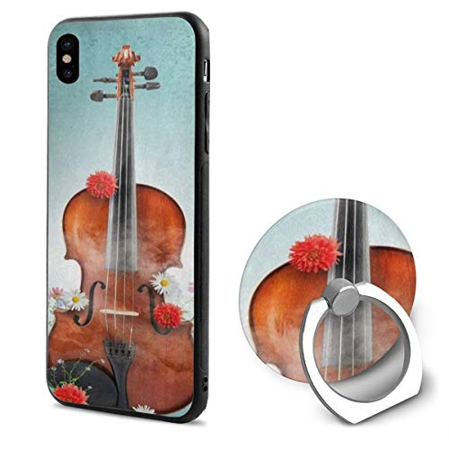 iPhone X Case Classical Violin Music Daisy Flower