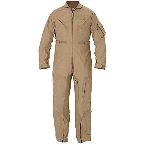 - GI CWU 27P Flyers Nomex Coveralls FR Flight Suit Tan (50L)