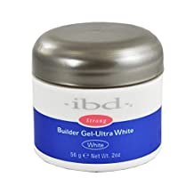 IBD UV Ultra White Builder Gel - 2oz / 56g (Bright White)
