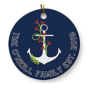 41zSR-sn84L._SS300_ 75+ Anchor Christmas Ornaments 2020