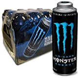 monster 24 energy low carb - MEGA MONSTER ENERGY, LO-CARB, 24 fl. oz. (Pack of 12 Cans)