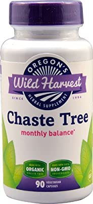 Oregon's Wild Harvest Chaste Tree -- 90 Vegetarian Capsules