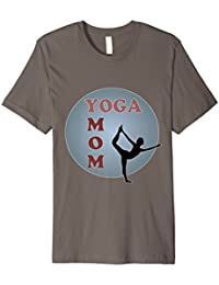 Womens Yoga Mom Tee, a great gift for mum