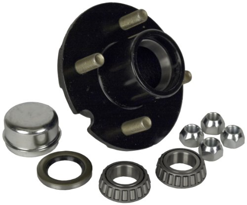 4 Bolt Hub (Martin Wheel (H4-C-PB-B) 4-Bolt Pressed Stud Hub Repair Kit for 1