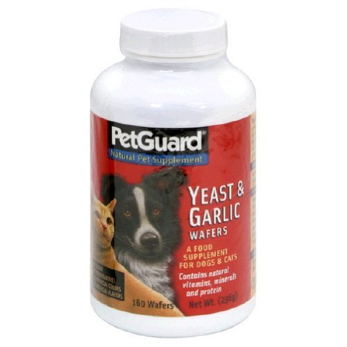 Pet Guard Yeast Garlic Wafers 160 Waf - Pack Of 1 ()