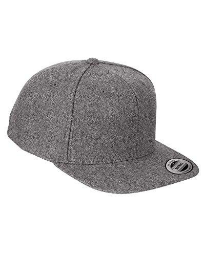 Melton Wool Adjustable Cap - Pro Wool Adjustable Cap