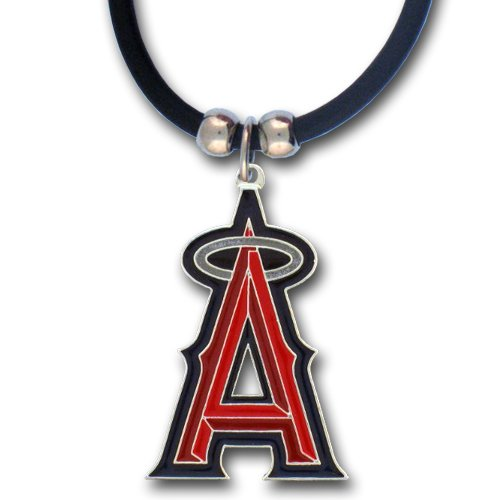 MLB Los Angeles Angels Rubber Cord Necklace