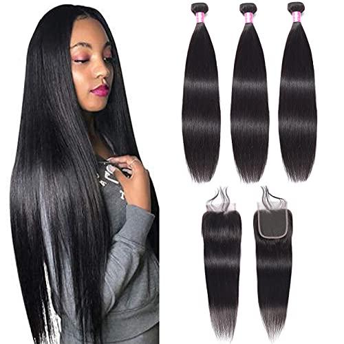 Cheap peruvian hair bundles with closure _image1