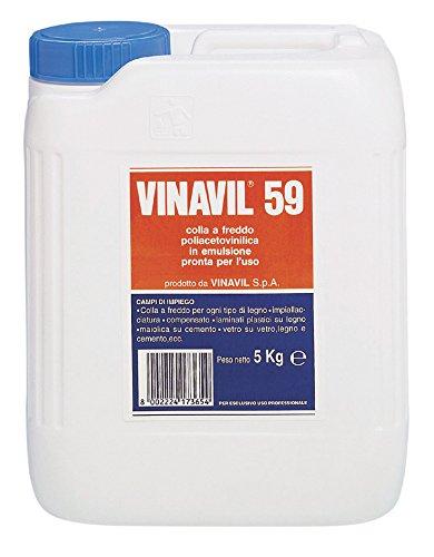 Bostik 10811 Vinavil 59 kg.5, Bianco