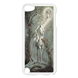 Unicon HOrse Hard Shell Cell Phone Case Cover for Ipod Touch Case 5 HSL485503