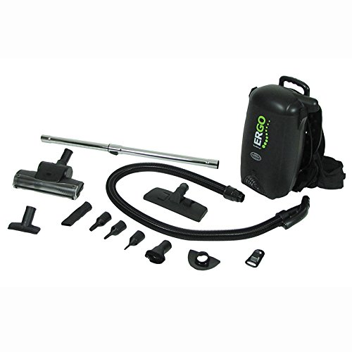 Atrix - VACBP1 HEPA Backpack Vacuum Corded 8 Quart HEPA Bag 4 Level Filtration Attachments ()