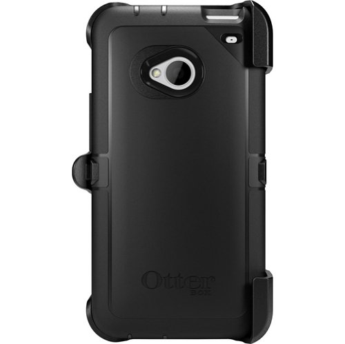 OtterBox Defender Case for HTC One M7 - Retail Packaging - Black