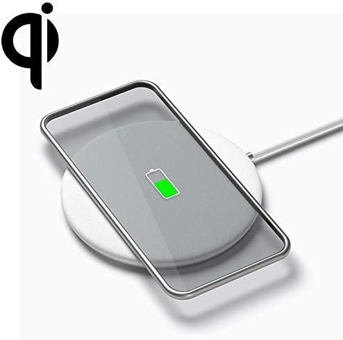 G-rf ワイヤレス充電器 標準的なデバイス、長充電WirelessのWP01 10Wラウンドワイヤレス充電器:1メートルを(ホワイト) (Color : White)