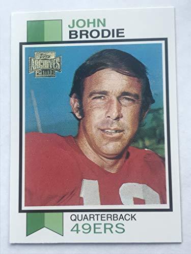 2001 Topps Archives Football #116 John Brodie NM/M (Near Mint/Mint)