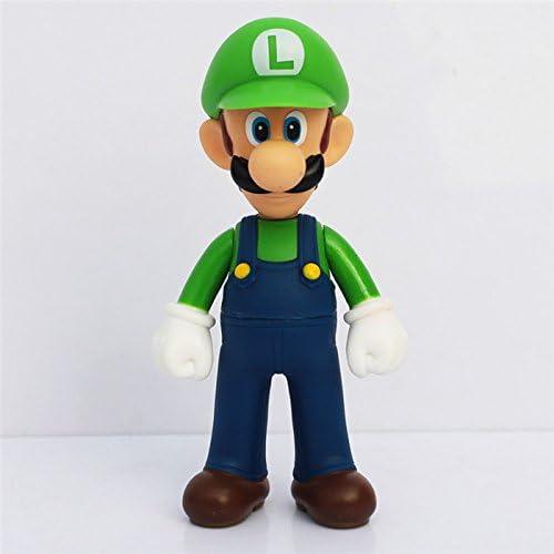 Amazon.com: 3 piezas/juego de Super Mario Bros Mario Yoshi ...