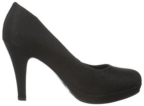 Jane Klain Pumps - Tacones Mujer Negro - Schwarz (000 Black)