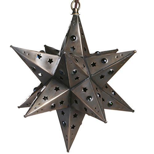 Rustic Star Pendant Light - 7