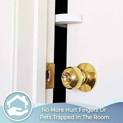 41zSXpNJw%2BL Tough Door Pinch Guards (6-Pack) Slick Design, Child Safety, Finger Pinch Protectors.    Product Description