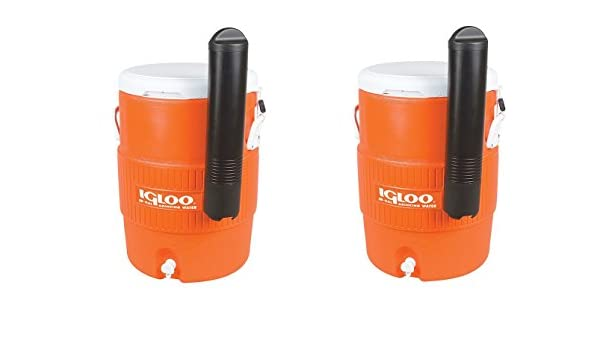 Amazon.com: Igloo 10 Gallon Seat Top Beverage dispenser with spigot and Cup Dispenser (Pack of 2): Kitchen & Dining