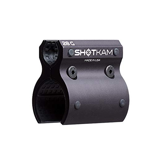 28-Gauge Attachment for Mounting ShotKam (3rd Gen) to Barrel - Aluminum Bracket Accessory ()