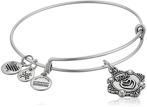 Alex and Ani Womens Because I Love You Mom III Bangle