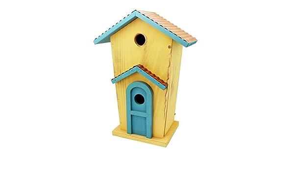 Birdhouses GONALuxury - Jaula de Madera para pájaros o pájaros de ...