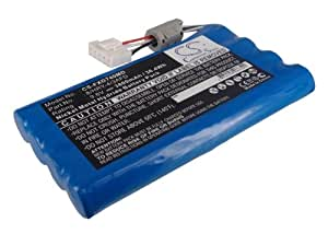 Battery for Fukuda 8/HRY-4/3AFD, FX-7402, Cardimax FX-7402 +Free External USB Power