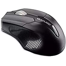 Mouse Multilaser Sem Fio 2.4 Ghz 1600 Dpi Preto Usb - MO221