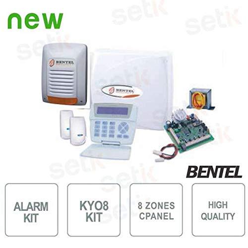 Bentel Security - Kit Kyo 8 Bentel Alarma de Hilo 8 Zonas ...