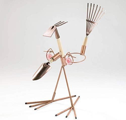Westfalia Gartengeräte Set 3in1 aus Metall mit Gartenwerkzeuge