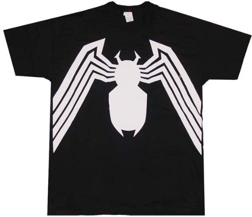 Spider-Man Venom Double Sided Print T-Shirt- XXXLarge