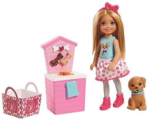 Barbie Muñeca Stand de Bocadillos de Chelsea