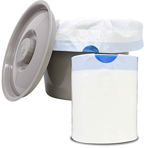 Pivit Universal Commode Liners with Super Absorbent Pads (Pack of 72)