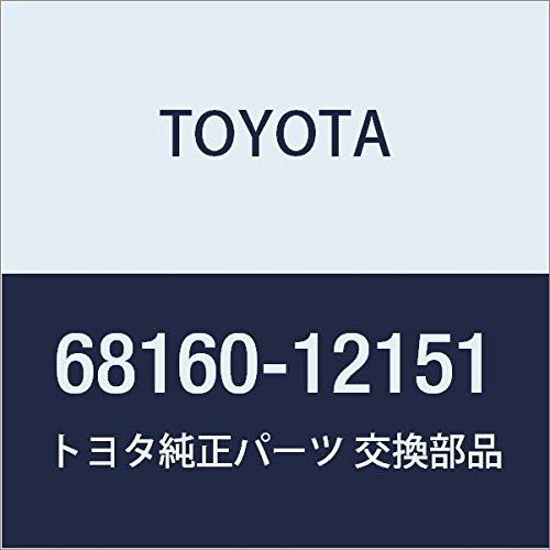 TOYOTA Genuine 68160-12151 Door Glass Weatherstrip