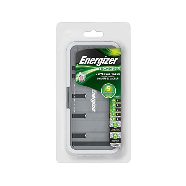 Energizer-Recharge-Universal-Charger-charges-8-AAAAA-4-CD-or-1-9V-NiMH-Batteries
