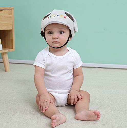Miss.AJ Adjustable Baby Toddler Safety Helmet Hat Head Protection,Infant Protective Safety Hat, Protection Hat for Biking Walking Crawling