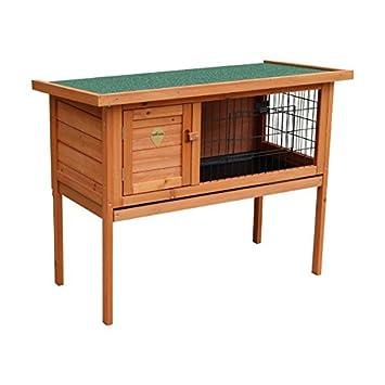 Casa para conejos Nobleza, estructura de madera, alto 70cm. Envío gratis.: Amazon.es: Hogar