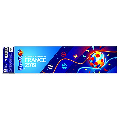 Women's World Cup 2019 | Licensed Bumper Stickers | 2-Pack | Great Value!