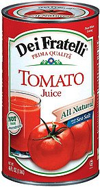 Dei Fratelli Tomato Juice 46FZ (Pack of 12) (Dei Fratelli Tomato Juice compare prices)
