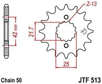 85//97 // 1000 GSXR-01//08 // HAYABUSA Compatible avec//Remplacement pour 750 GSXR PIGNON 15 DENTS -JTF513.15 99//07