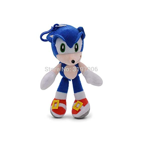 yzbt 8Style Sonic Plush Doll Toys 12''8'' Sonic Shadow Amy Rose Knuckles Tails Plush Toys Cotton Soft Stuffed Gift for