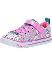 Skechers Sparkle Lite - Sparkle Friends Girls Sneakers, Lavender/Multi