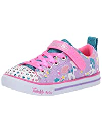 Skechers Girls Sparkle LITE-Sparkle Friends Sneakers