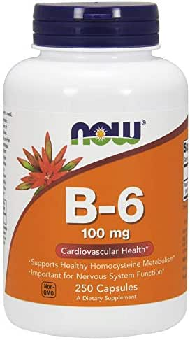 Vitamins & Supplements: NOW Supplements B-6
