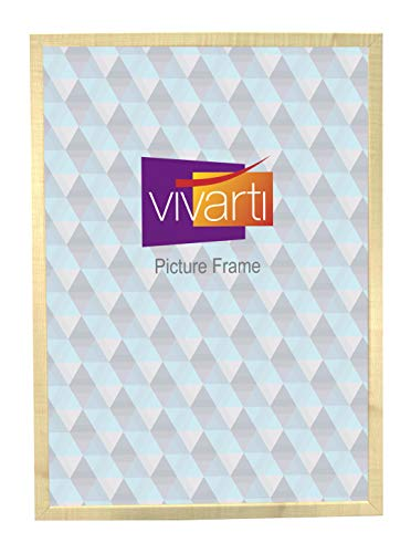 Thin Maple Natural Finish Picture Frame, A2 Size, 59.4 x 42 ()