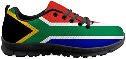 Owaheson Lace-up Sneaker Training Shoe Mens Womens South Africa Flag