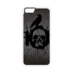 iPhone 6 Plus 5.5 Inch Cell Phone Case White Chaos BNY_6767302